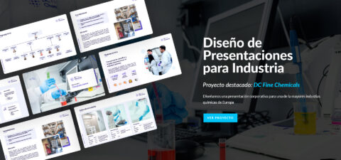 diseño de presentaciones para industria en Power Point