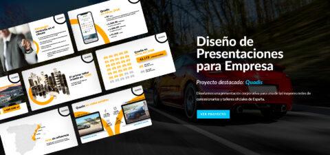 diseño de presentaciones para empresa en Power Point